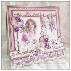 DESIGNERPAPIER VON PION DESIGN AUS SCHWEDEN PION DESIGN: Set In Provence - Scent of Lavender - Hobby-Crafts24.eu