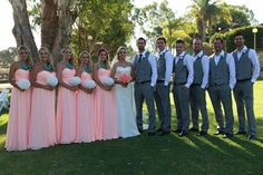 Beautiful color bridesmaid dresses absolutely love it