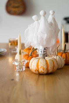 Centre de table pour l'Halloween - Halloween centerpiece