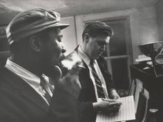 W. Eugene Smith's Jazz Loft Project Thelonious Monk and Hall Overton