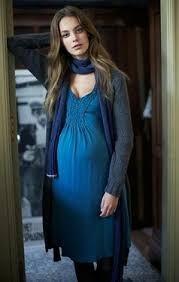 8d60878ba Las 31 mejores imágenes de Vestidos Otoño Invierno para embarazadas ...