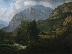 View of Fortundalen, 1836 - Johan Christian Dahl