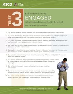 Whole Child Indicators for Engaged