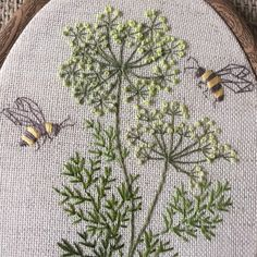 Garden Embroidery, Embroidery Flowers Pattern, Crewel Embroidery, Embroidery Hoop Art, Hand Embroidery Designs, Ribbon Embroidery, Cross Stitch Embroidery, Embroidery Needles, Hungarian Embroidery