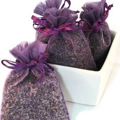 Fields of Lavender Handmade Sachet - floral, purple organza bag, scented, natural, potpourri, fragrance, aromatherapy, wedding, shower favor by ConcordSoap on Etsy https://www.etsy.com/listing/62866300/fields-of-lavender-handmade-sachet