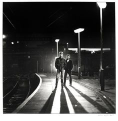 Rent [Pet Shop Boys at Kings Cross Station, London], by Eric Watson, 1987