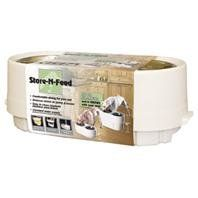 ADJUSTABLE STORE-N-FEED (Catalog Category: Dog:FEEDING ACCESSORIES) - http://www.thepuppy.org/adjustable-store-n-feed-catalog-category-dogfeeding-accessories/