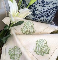 Number Four Eleven S Monogram, Monogram Styles, Belle Lingerie, Southern Accents, Numbers, Initials, Linens, Instagram Posts, Savannah
