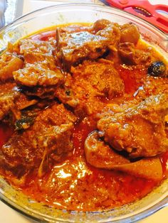 Burmese Goat curry
