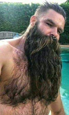 Trending beard style men in Find the best beard designs and shapes for their short and long facial hair with masculine character and charm. Great Beards, Awesome Beards, Beard Styles For Men, Hair And Beard Styles, Hair Styles, Hairy Men, Bearded Men, Epic Beard, Badass Beard