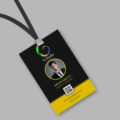 Learn more about ID card template designing and create your own identification card designs using these ten templates. Identity Card Design, Id Card Design, Graphic Design Brochure, Id Design, Badge Design, Card Designs, Business Cards Layout, Business Card Design, Id Card Template