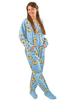 4176cea289 rubber duck pajamas One Piece Pajamas