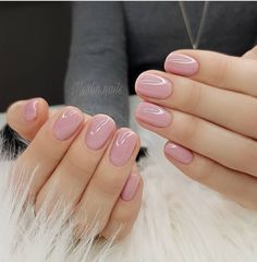 52 Cute and Lovely Pink Nail Designs to Love Romantic and Girly . - 52 Cute and Lovely Pink Nail Designs to Look Romantic and Girly - Matte Pink Nails, Pink Glitter Nails, Nude Nails, My Nails, Neutral Nails, Light Pink Nails, Emoji Nails, No Chip Nails, Glitter Wine