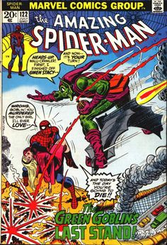 The Amazing Spider-Man #122, July 1973, cover by John Romita