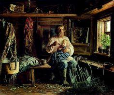"""""""Слепой мастер"""" Василия Максимова / """"Blind Master"""" by Vasily Maximov (1884)"""