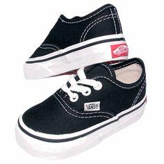 629ebf9a5b Vans Authentic Toddler Black Shoes
