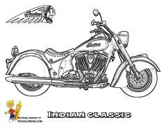 1937 INDIAN motorcycles FREE COLORING PAGE | Coloring Motorcycles | Motorcycles | Free Motorcycle Coloring Pages ...