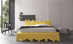 Cubed Bed by Francesca Paduano for Bolzan Letti