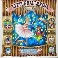 Little ballerina puppet show. Romantic country second tale. #romanticcountry #romanticcountrythesecondtale #ballerina#puppetshow #eriy #coloring #coloringbook #coloringtherapy #coloring_secrets #coloringmasterpiece #artecomoterapia#romanticcountrycoloringbook