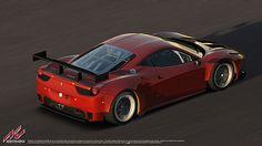 Ferrari 458 GT2 official license for Assetto Corsa racing game