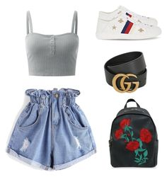 """""""Shopping Girl"""" by sophiabloglifestyle on Polyvore featuring WithChic and Gucci"""