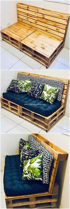 Majestic DIY Wood Pallet Creations and Projects - DIY Furniture Couch Ideen Diy Wood Pallet, Pallet Ideas Easy, Diy Pallet Furniture, Diy Pallet Projects, Wooden Pallets, Furniture Projects, Wood Furniture, Wood Projects, Pallet Signs
