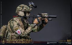 DAMTOYS : RUSSIAN SPETSNAZ FSB ALPHA GROUP (LUXURY VER)