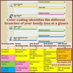 Will color-coding uncover a merger in your family history? This genealogy exercise gives you a clear roadmap of your most-needed family tree search. Genealogy Forms, Genealogy Sites, Genealogy Chart, Genealogy Research, Family Genealogy, Genealogy Humor, Family Tree Search, Family Tree For Kids, Family Tree Maker
