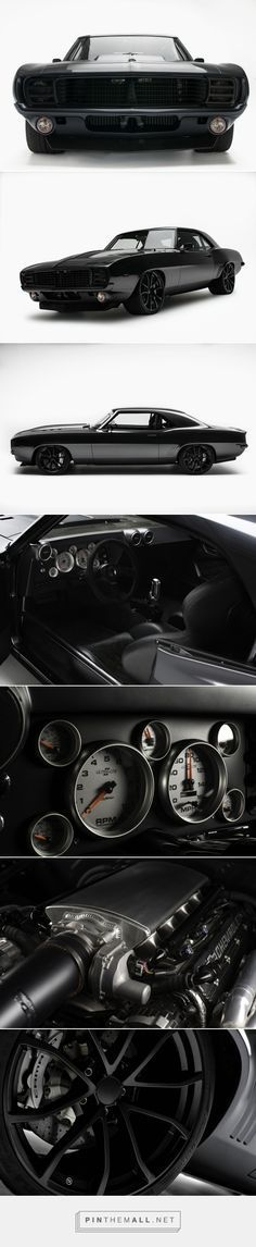 Blacked-Out 1969 Chevrolet Camaro