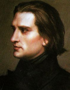 Franz Liszt. Sexy Hungarian. Oh, he played music, too.