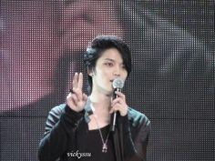 JaeJoong at Taiwan Fan Meeting