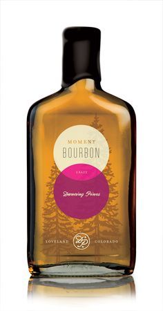 Dancing Pines Bourbon Packaging by Tenfold , via Behance