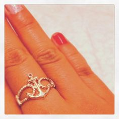 anchor ring :0  dear santa,   i will love to have one of these and an infinity ring! please and thank you (;
