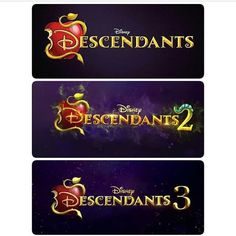 Wow Descendants 3 I cant wait unfortunately it will be the last film for descendants but don't worry the series will definitely continue , D3 will start its production in 2018's  summer
