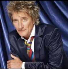 Rod Stewart...something really sexy about him!