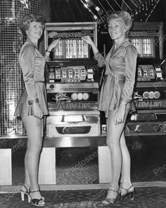 Slot Hostess Pose Bally Medalist Slot Machines Vintage 8x10 Reprint of Old Photo $19.99 Free Shipping | eBay