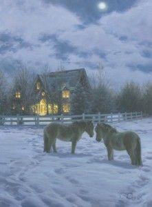 *Snowy night...Robert Duncan