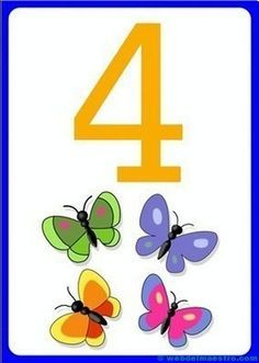 Number flashcards for kids - Numbers For Kids, Numbers Preschool, Math Numbers, Preschool Classroom, Preschool Worksheets, Letters And Numbers, Number Flashcards, Flashcards For Kids, Math For Kids