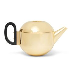 Tom Dixon, Form Brass Teapot, $130.