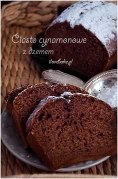 Easy Blueberry Muffins, Blue Berry Muffins, Polish Recipes, Food Cakes, Coleslaw, Cake Cookies, Banana Bread, Cake Recipes, Good Food