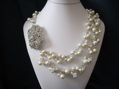 The Kate wedding jewelry bridal jewelry bridal by terihuang, so amazing