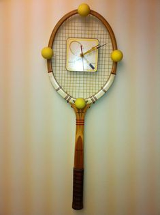 Cool tennis Clock!
