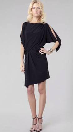 e8b69cd085f Cut-Out Dolman Sleeve Cocktail Dress