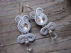 Ridgways / White/Silver 7...soutache