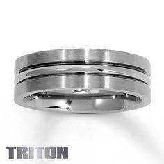 Men's Wedding Band Titanium