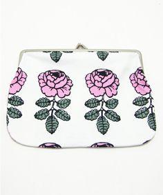 VIHKIRUUSU / Puolikas Kukkaro marimekko BAG of (Marimekko bag) (pouch)   Pink