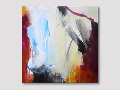 Original Kunst abstrakte Malerei Acryl-Malerei von ARTbyKirsten