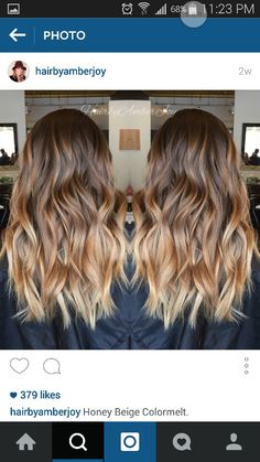 Are you struggling with a rut with your hair? Well, here are seven hairstyles that you'll want to try right now. Good Hair Day, Great Hair, Hair Color And Cut, Fall Hair, Honey Balayage, Bayalage, Ombre Hair, Gorgeous Hair, Hair Looks