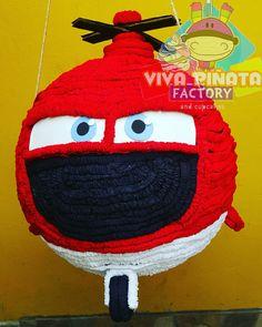 Piñata Helicóptero del equipo de rescate de la película Aviones... recuerden pasar a visitarnos a #VivaPiñataStore y checar nuestros productos exclusivos.