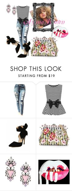 """""""Knott"""" by ayanabrown on Polyvore featuring WearAll, Dolce&Gabbana and Erickson Beamon"""